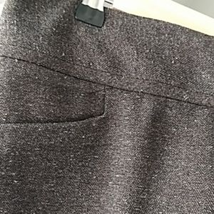 The Limited dark brown trousers size 2R